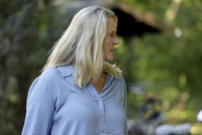 Landratskandidatin Birgit Neyer im Gespräch